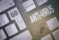Anti-virus concept Royalty-vrije Stock Fotografie