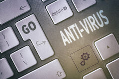 Anti-Virus Concept Royalty Free Stock Photography