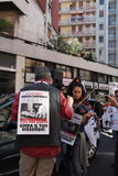 Anti-vivisectie 13 maart Mei 2017 Milaan Royalty-vrije Stock Afbeelding