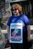 Anti-vivisectie 13 maart Mei 2017 Milaan Royalty-vrije Stock Fotografie