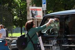 Anti-vivisectie 13 maart Mei 2017 Milaan Royalty-vrije Stock Foto's
