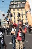 Anti-Vivisektion am 13. März Mailand im Mai 2017 Stockfoto