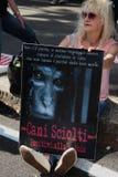 Anti-Vivisektion am 13. März Mailand im Mai 2017 Lizenzfreie Stockfotos