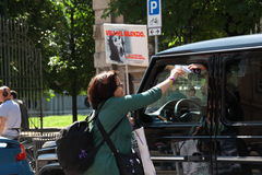 Anti-vivisezione 13 marzo maggio 2017 Milano Fotografie Stock Libere da Diritti