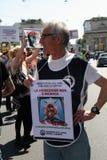 Anti-vivisseção o 13 de março maio de 2017 Milão Fotos de Stock Royalty Free
