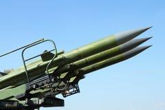 Anti vliegtuigenraketten Stock Afbeelding