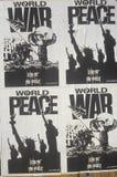 Anti-war posters, California Stock Images
