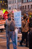 Anti-war Protest Stock Photography