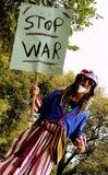 Anti-War Protest. Demonstration in Washington, D.C Stock Image