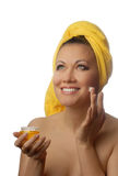 Anti-wrinkle cream Stock Photography