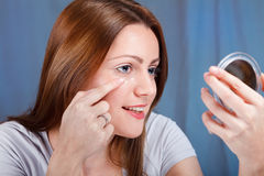 Anti-wrinkle cream Royalty Free Stock Images