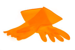 Antiacid Gloves Royalty Free Stock Image