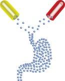 Antiacide illustration stock
