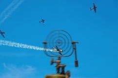Antiaircraft eksterminacja Fotografia Royalty Free