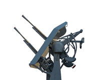 Antiaircraft gun Royalty Free Stock Image