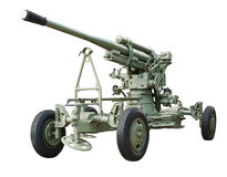 Antiaircraft gun Stock Images