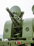 Antiaircraft gun Royalty Free Stock Photo