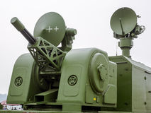 Antiaircraft gun Stock Image