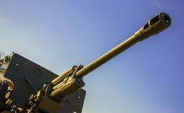 Antiaircraft gun. Stock Image