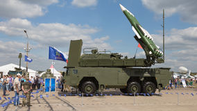 Antiaircraft missile Buk-M 23 Stock Images