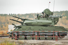 Antiaircraft missile system ZSU-23-4M4 Shilka-M4 Royalty Free Stock Photos