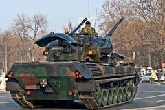 Antiaircraft tanks Royalty Free Stock Images