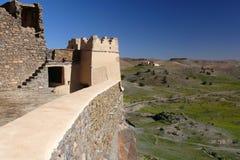 antiatlas kasbah Morocco tizourgane Obrazy Stock