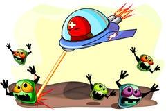 Antibacterial action Stock Photo