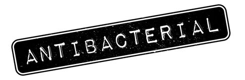 Antibacterial rubber stamp Stock Photography