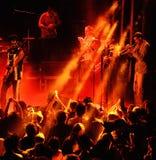 Antibalas (afrobeat band) performance at Heineken Primavera Sound 2014 Festival. BARCELONA - MAY 27: Antibalas (afrobeat band) performance at Heineken Primavera Stock Image