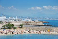 Antibes. Photo stock