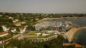 Antibes Aerial stock footage