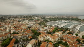 Antibes-Antenne stock footage