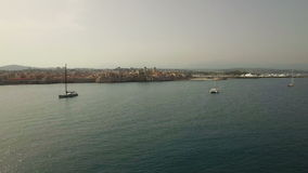 Antibes-Antenne stock video footage