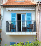 Antibes - architecture of old town Stock Photo