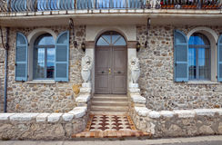 Antibes - Architecture of old town Stock Image