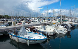 Antibes - boats Royalty Free Stock Photo