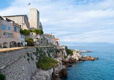 The Antibes castle Stock Photography