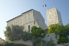 Antibes castle, from 17th century, Antibes, France Royalty Free Stock Images