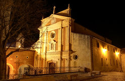 Antibes Cathedral Royalty Free Stock Photo