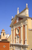 Antibes church Royalty Free Stock Photos