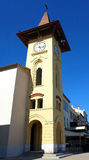Antibes clock tower Stock Images