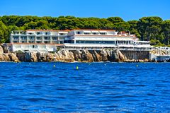 Antibes coastline, France Stock Image
