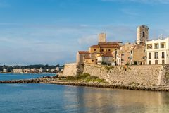Antibes, Cote d`Azur, France Stock Photography