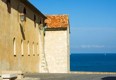 Antibes cty, France Royalty Free Stock Photo