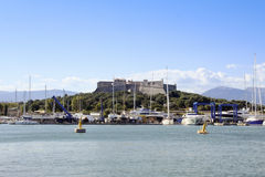 Antibes fort carre french riveiera france Royalty Free Stock Photo
