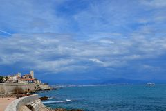 antibes france Royaltyfri Bild