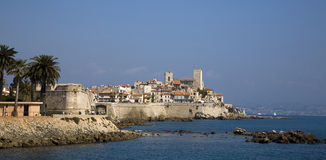 Antibes France stock image