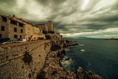 Antibes, France: city in French Riviera between Cannes and Nice Royalty Free Stock Images