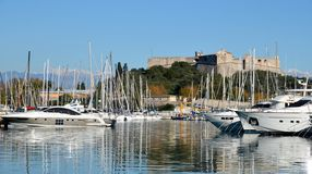 ANTIBES IN FRANCE Stock Images